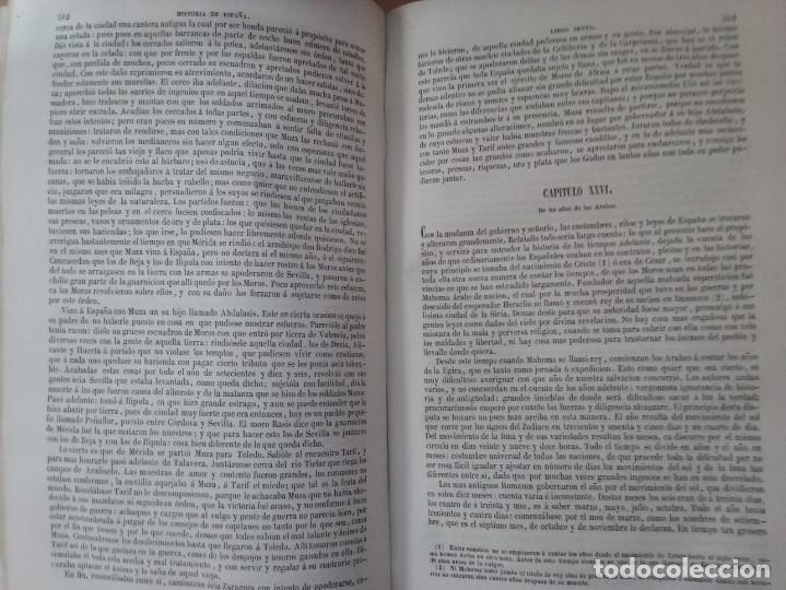 Libros antiguos: HISTORIA GENERAL DE ESPAÑA MARIANA (TOMO I, 1849) - PADRE MARIANA (POR EDUARDO CHAO) - Foto 17 - 189463653