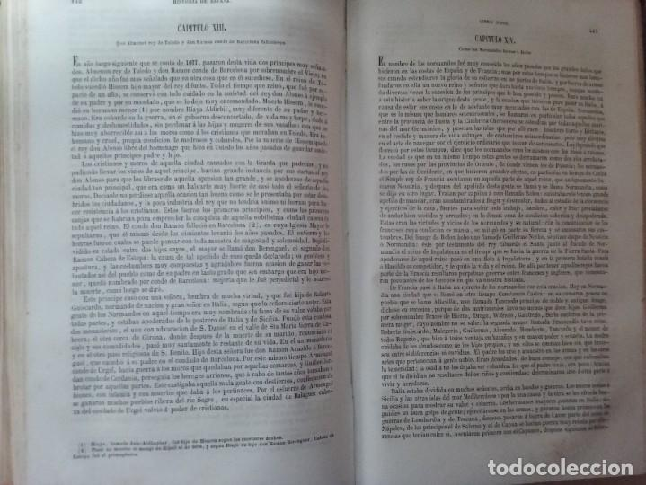 Libros antiguos: HISTORIA GENERAL DE ESPAÑA MARIANA (TOMO I, 1849) - PADRE MARIANA (POR EDUARDO CHAO) - Foto 20 - 189463653