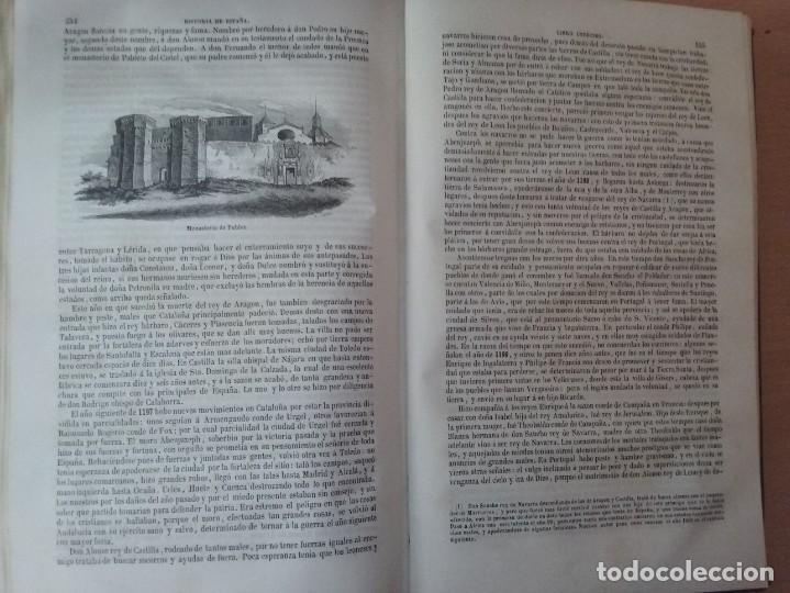 Libros antiguos: HISTORIA GENERAL DE ESPAÑA MARIANA (TOMO I, 1849) - PADRE MARIANA (POR EDUARDO CHAO) - Foto 22 - 189463653