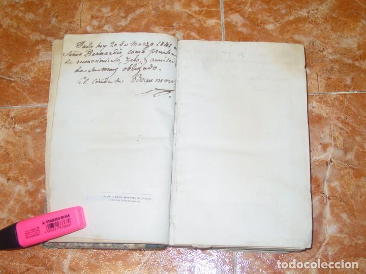Libros antiguos: HISTORIA DE LA CONQUISTA DE MÉJICO, por Antonio de Solis, ed. librer. europea de Baudry, París, 1838 - Foto 4 - 189624356