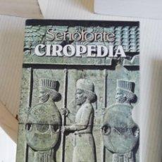 Libros antiguos: CIROPEDIA DE SENOFONTE EN ITALIANO Y EN DOS TOMOS. Lote 189932692