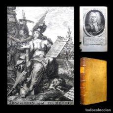 Libros antiguos: AÑO 1745 ANTIQUITATUM ROMANARUM HEINECCIUS DERECHO ROMANO 2 EXTRAORDINARIOS GRABADOS ROMA. Lote 190183320