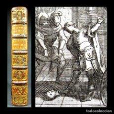 Libros antiguos: AÑO 1742 CONSTANTINOPLA HISTORIA ROMANA 2 EJEMPLARES EN ESPAÑA EMPERADORES ROMANOS GRABADO ECHARD. Lote 190183480