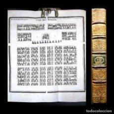 Libros antiguos: AÑO 1788 MÁQUINAS DE GUERRA ROMANAS CATAPULTA CAMPAMENTO HISTORIA ANTIGUA ROMA GRABADO ROLLIN . Lote 190184037