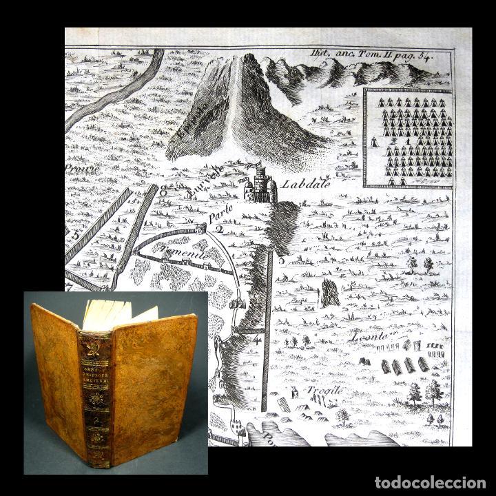 AÑO 1813 IMPERIO PERSA Y ANTIGUA GRECIA BABILONIA MAPA GRABADO DE SIRACUSA HISTORIA ANTIGUA ROLLIN (Libros antiguos (hasta 1936), raros y curiosos - Historia Antigua)
