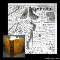 Libros antiguos: AÑO 1813 IMPERIO PERSA Y ANTIGUA GRECIA BABILONIA MAPA GRABADO DE SIRACUSA HISTORIA ANTIGUA ROLLIN. Lote 190184102