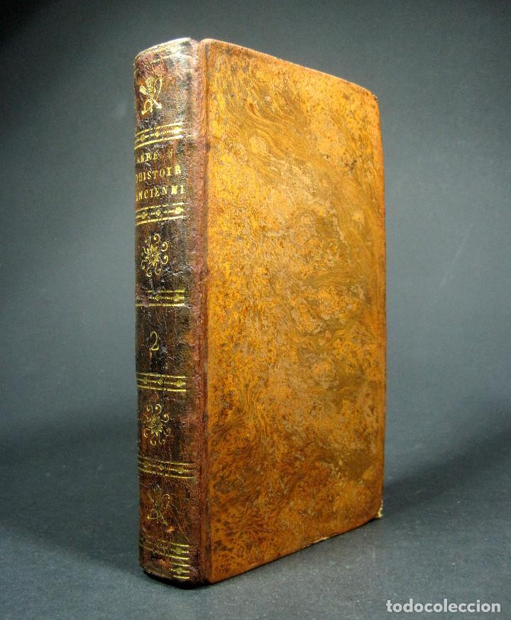 Libros antiguos: Año 1813 Imperio Persa y Antigua Grecia Babilonia Mapa grabado de Siracusa Historia Antigua Rollin - Foto 21 - 190184102