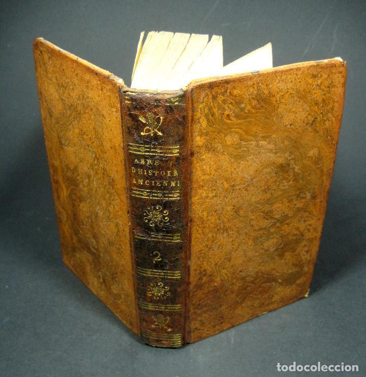 Libros antiguos: Año 1813 Imperio Persa y Antigua Grecia Babilonia Mapa grabado de Siracusa Historia Antigua Rollin - Foto 3 - 190184102