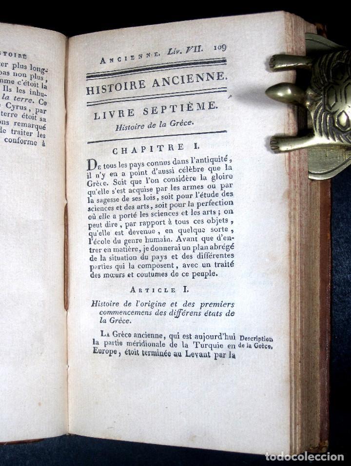 Libros antiguos: Año 1813 Imperio Persa y Antigua Grecia Babilonia Mapa grabado de Siracusa Historia Antigua Rollin - Foto 6 - 190184102
