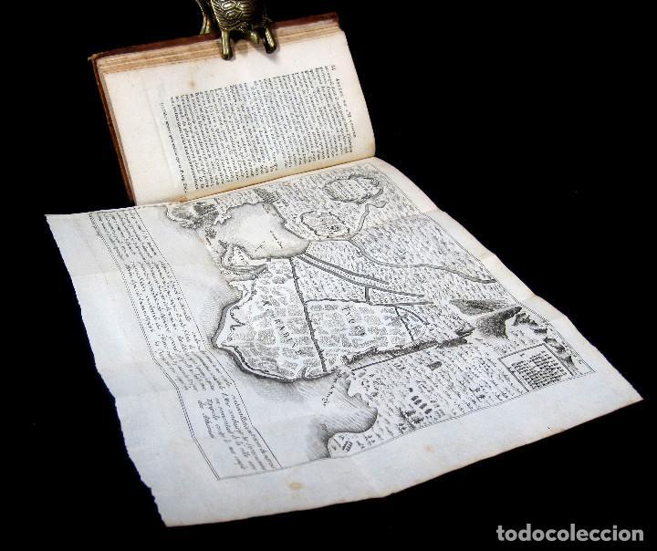 Libros antiguos: Año 1813 Imperio Persa y Antigua Grecia Babilonia Mapa grabado de Siracusa Historia Antigua Rollin - Foto 7 - 190184102