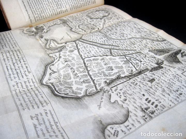 Libros antiguos: Año 1813 Imperio Persa y Antigua Grecia Babilonia Mapa grabado de Siracusa Historia Antigua Rollin - Foto 12 - 190184102