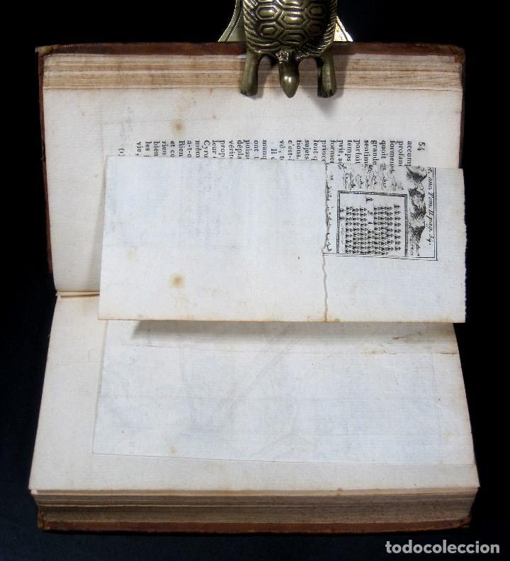Libros antiguos: Año 1813 Imperio Persa y Antigua Grecia Babilonia Mapa grabado de Siracusa Historia Antigua Rollin - Foto 13 - 190184102