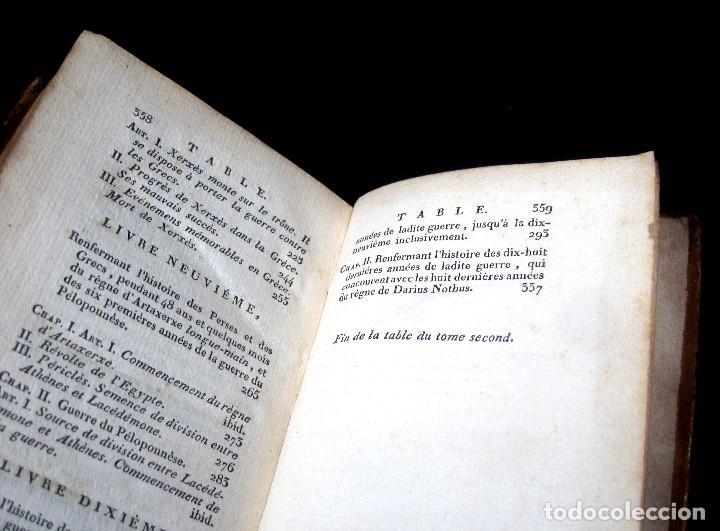 Libros antiguos: Año 1813 Imperio Persa y Antigua Grecia Babilonia Mapa grabado de Siracusa Historia Antigua Rollin - Foto 14 - 190184102