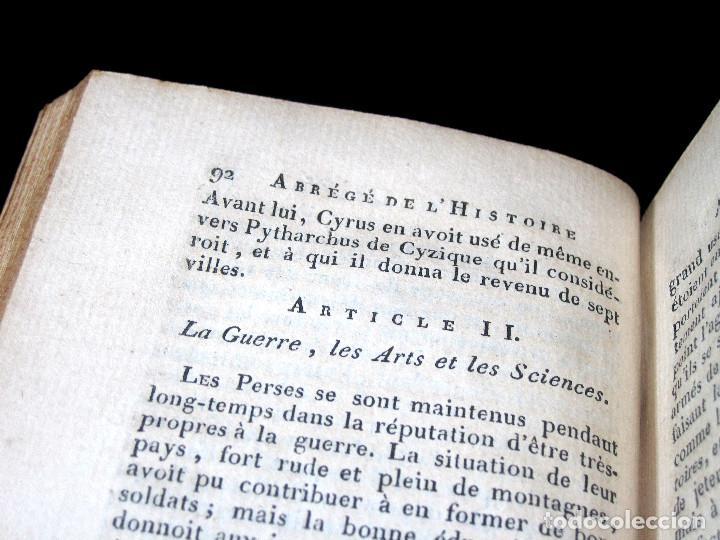 Libros antiguos: Año 1813 Imperio Persa y Antigua Grecia Babilonia Mapa grabado de Siracusa Historia Antigua Rollin - Foto 17 - 190184102