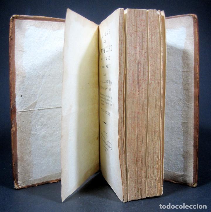 Libros antiguos: Año 1813 Imperio Persa y Antigua Grecia Babilonia Mapa grabado de Siracusa Historia Antigua Rollin - Foto 20 - 190184102