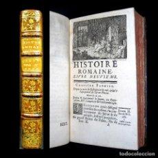 Libros antiguos: AÑO 1738 NINGÚN EJEMPLAR EN ESPAÑA EMPERADORES ROMANOS HISTORIA ROMANA ECHARD GRABADO ANTIGUA ROMA. Lote 190304010