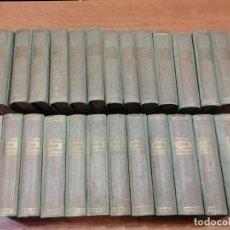 Libros antiguos: HISTORIA DE ESPAÑA Y DE LAS REPÚBLICAS LATINO AMERICANAS. 25 TOMOS. COMPLETO. Lote 191093490