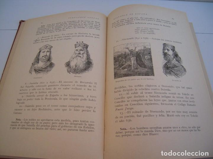 Libros antiguos: historia de españa calleja - Foto 4 - 191314228