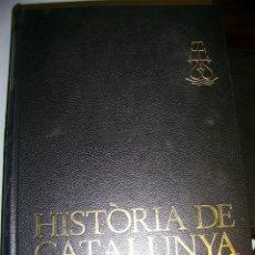 Libros antiguos: HISTORIA DE CATALUNYA 2 VOLUMS EDITORIAL AEDOS 1969. Lote 191339126