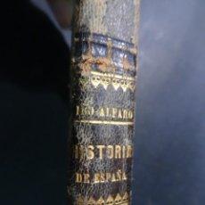Libri antichi: ANTIGUO LIBRO COMPENDIO DE LA HISTORIA DE ESPAÑA, MANUEL IBO ALFARO. MADRID,1875.. Lote 191489810
