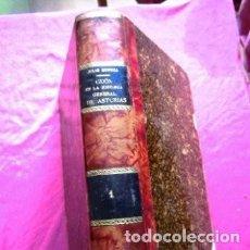 Libros antiguos: GIJON EN LA HISTORIA GENERAL DE ASTURIAS SOMOZA EDICION NUMERADA AÑO 1908. Lote 191571377