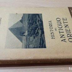 Libros antiguos: HISTORIA DEL ANTIGUO ORIENTE - ERICH EBELING - LABOR - 1932- LABOR - 1932/ M 105. Lote 191871197