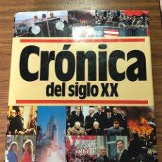 Libros antiguos: CRONICA DEL SIGLO XX,CRONICA DE ESPAÑA,Y CRONICA DE LA HUMANIDAD (3TOMOS)PLAZA Y JANES EDITORES.. Lote 193437038