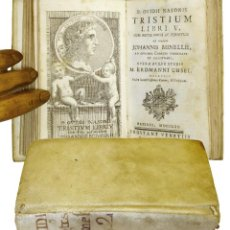 Libros antiguos: 1770 - PUBLIO OVIDIO NASON - OVIDIO - TRISTEZAS - TRISTIUM . Lote 193831515
