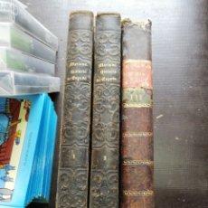Libros antiguos: HISTORIA GENERAL DE ESPAÑA P. JUAN DE MARIANA CON GRABADOS Y MAPAS 1852 (TOMO 3 DE 1804). Lote 193900681