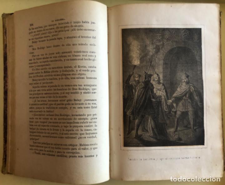 Libros antiguos: LA ALHAMBRA- LEYENDAS ARABES- MANUEL FERNANDEZ Y GONZALEZ- MADRID 1.863 - Foto 5 - 194028115