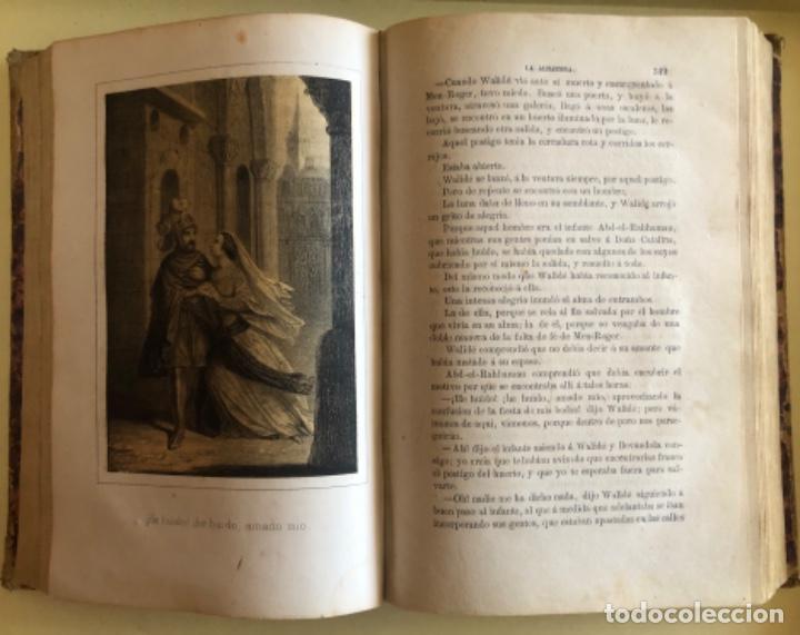 Libros antiguos: LA ALHAMBRA- LEYENDAS ARABES- MANUEL FERNANDEZ Y GONZALEZ- MADRID 1.863 - Foto 6 - 194028115
