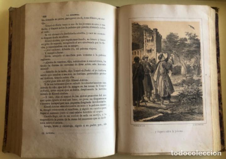 Libros antiguos: LA ALHAMBRA- LEYENDAS ARABES- MANUEL FERNANDEZ Y GONZALEZ- MADRID 1.863 - Foto 7 - 194028115