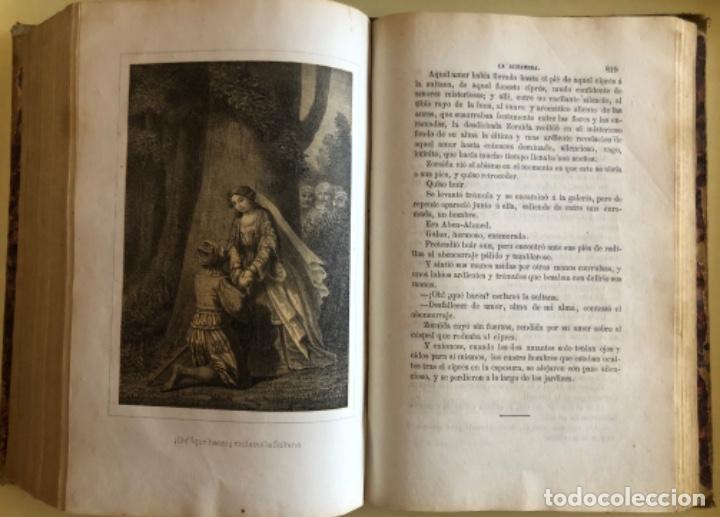 Libros antiguos: LA ALHAMBRA- LEYENDAS ARABES- MANUEL FERNANDEZ Y GONZALEZ- MADRID 1.863 - Foto 8 - 194028115