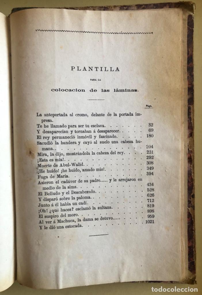 Libros antiguos: LA ALHAMBRA- LEYENDAS ARABES- MANUEL FERNANDEZ Y GONZALEZ- MADRID 1.863 - Foto 12 - 194028115