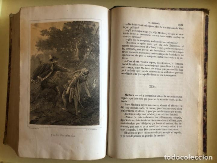 Libros antiguos: LA ALHAMBRA- LEYENDAS ARABES- MANUEL FERNANDEZ Y GONZALEZ- MADRID 1.863 - Foto 13 - 194028115
