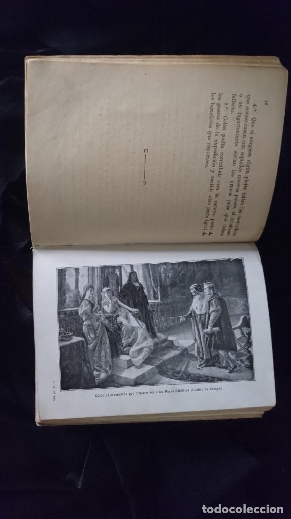 Libros antiguos: Cristobal Colón. Vidas de grandes hombres. - Foto 4 - 194141213