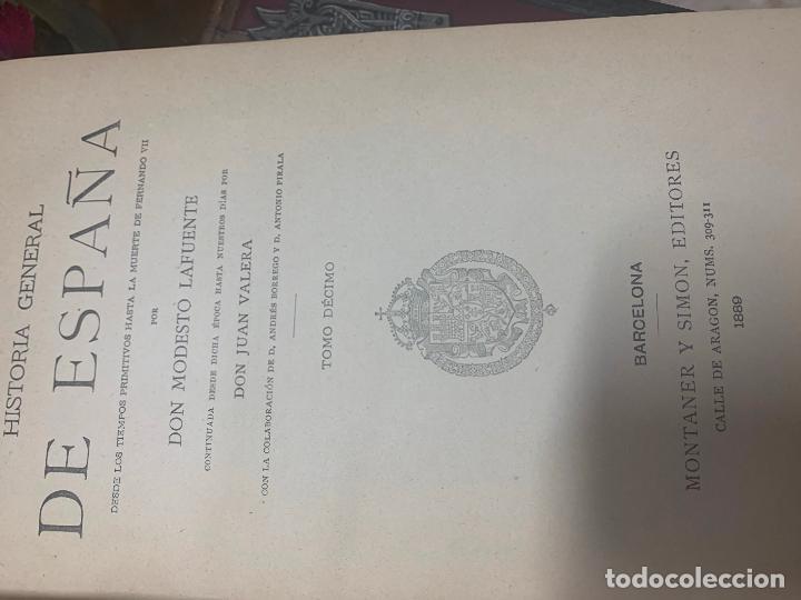 Libros antiguos: Historia general de España - Foto 4 - 194163698