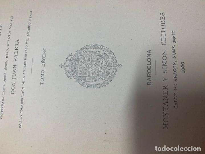 Libros antiguos: Historia general de España - Foto 5 - 194163698