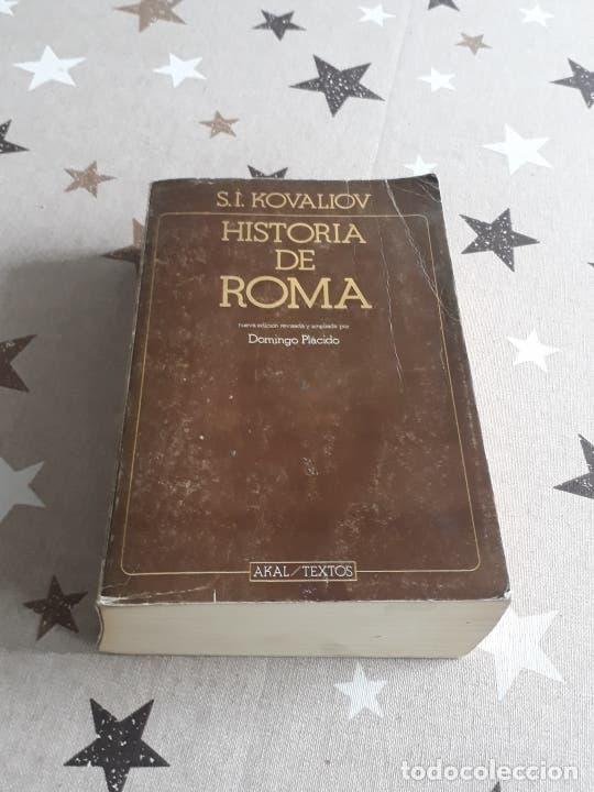 LIBRO HISTORIA DE ROMA S.I. KOVALIOV (Libros antiguos (hasta 1936), raros y curiosos - Historia Antigua)