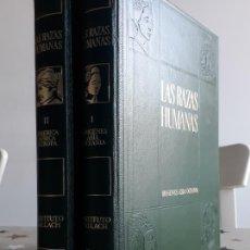 Libros antiguos: LIBROS LAS RAZAS HUMANAS TOMO 1 Y 2. Lote 194168605