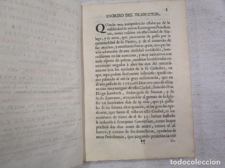 Libros antiguos: EL DUQUE DE BRUNSVICK DESENGAÑADO Y FELIZMENTE RECONVERTIDO..- DON PEDRO DE CASTRO - MADRID 1767 + - Foto 5 - 194213800