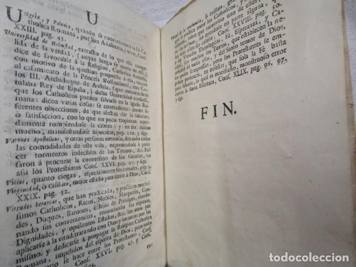 Libros antiguos: EL DUQUE DE BRUNSVICK DESENGAÑADO Y FELIZMENTE RECONVERTIDO..- DON PEDRO DE CASTRO - MADRID 1767 + - Foto 8 - 194213800