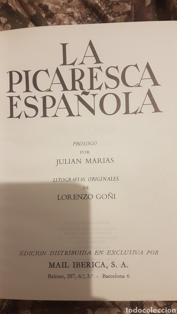 Libros antiguos: La picaresca española - Foto 5 - 194217023