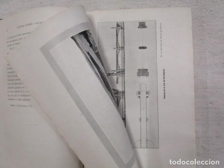 Libros antiguos: CARTAS SOBRE GALICIA - DOMINGO VILLAR GRANGEL - Madrid 1914 259pag 19cm plena piel, fotos b/n + - Foto 5 - 194236981
