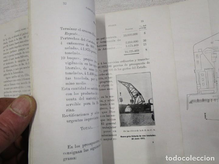 Libros antiguos: CARTAS SOBRE GALICIA - DOMINGO VILLAR GRANGEL - Madrid 1914 259pag 19cm plena piel, fotos b/n + - Foto 7 - 194236981