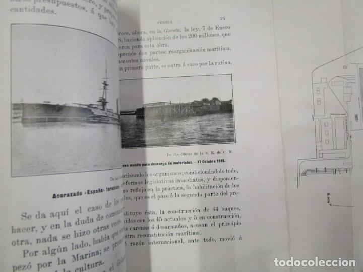 Libros antiguos: CARTAS SOBRE GALICIA - DOMINGO VILLAR GRANGEL - Madrid 1914 259pag 19cm plena piel, fotos b/n + - Foto 9 - 194236981