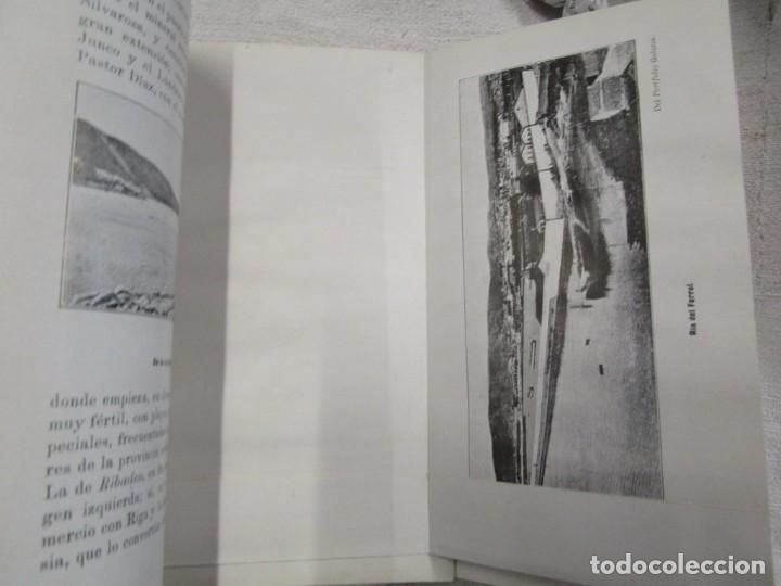 Libros antiguos: CARTAS SOBRE GALICIA - DOMINGO VILLAR GRANGEL - Madrid 1914 259pag 19cm plena piel, fotos b/n + - Foto 12 - 194236981
