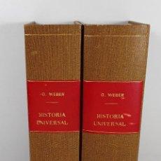 Libros antiguos: COMPENDIO DOCTRINAL DE LA HISTORIA UNIVERSAL. 4 TOMOS EN 2 VOLUM. 1853/56.. Lote 194280730