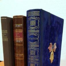 Libros antiguos: LA INSIGNE ORDEN DEL TOISÓN DE ORO, CÓDICE DE LA EMPERATRIZ, FACSIMIL.. Lote 194330268