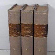 Libros antiguos: ESTUDIOS CRÍTICOS SOBRE LA HISTORIA Y EL DERECHO DE ARAGÓN. 3 TOMOS. 1884/86.. Lote 194390161